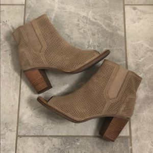 Toms Perforated Majorca Bootie